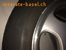 4 Original Mercedes Benz Alufelgen  mit Sommer-Michelin 215/55R16 97W Primacy HP