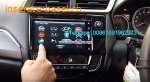 Honda BRV Car audio radio update android GPS navigation camera