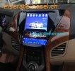 Hyundai Elantra Vertical Screen Car radio tesla android GPS navigation camera