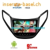 Hyundai HB20 Car audio radio update android GPS navigation camera