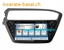 Hyundai i20 2018 Car audio radio update android GPS navigation camera