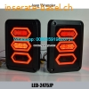 Jeep wrangler LED Rear Bumper Tail Reversing Lights Parking Brake Lights