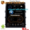 Porsche Macan radio GPS android Vertical screen
